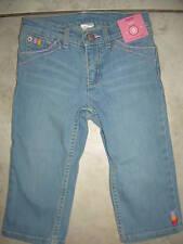 Nwt Gymboree Glamour Safari Lightweight Denim Jeans Capri Pants 5 New