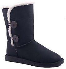 Damen Winter Boots,Winter Stiefel,Stiefeletten,Kunstfell,Schwarz Gr. 36