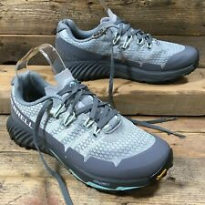 Merrell AGILITY PEAK FLEX 3 Vibram Sole Trail Running Trainers Grey 4.5UK 37.5EU