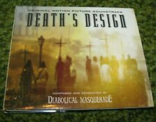 "DIABOLICAL MASQUERADE ""Death's Design"" 2001 Digipak CD (OPETH, DARKTHRONE)"