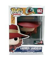 Funko Pop Carmen Sandiego #662 Gamestop Exclusive Vinyl Figure
