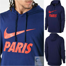 684507ed9 New listingNIKE PSG Paris Saint-Germain Authentic Men's Hoodie Size Large  892550-421