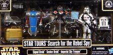 Disney STAR WARS WEEKENDS 2013 Tours Search for the Rebel Spy Figure Set MINT!
