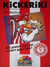 Programm 1995/96 SC Fortuna Köln - VfL Bochum