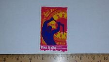 VTG 80's SANTA CRUZ CLAUS GRABKE  FATHER HANDS TIME SMA NOS SKATEBOARD STICKER