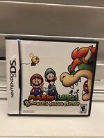 Mario & Luigi: Bowser's Inside Story (Nintendo DS, 2009) Complete, NDS