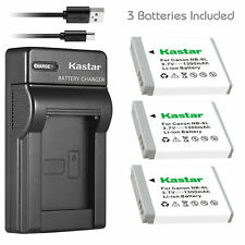 NB-6L Battery & USB Charger for Canon PowerShot SD4000 IS, SX170 IS, SX240 HS