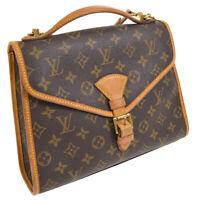 LOUIS VUITTON BEL AIR BUSINESS 2WAY HAND BAG MONOGRAM M51122 SL0967 AK31737c