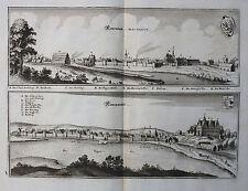 POLEN POMMERN NEUDAMM NEUWEDELL NEWENDAM MERIAN TOPOGRAPHIA POMERANIAE 1652
