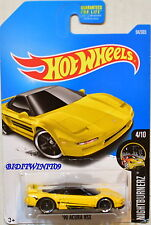 HOT WHEELS 2017 NIGHTBURNERZ '90 ACURA NSX #4/10 YELLOW TAMPO VARIATION