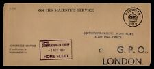 Dr Who 1952 Gb Ohms Official Paid Admiralty Service To London f47332
