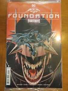 Batman Fortnite Foundation #1 One Shot (2021) Main Cover A Sealed DC Comics