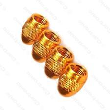 Acero de aleación de metal de oro metálico Polvo Tapas De Válvula De Rueda Neumático (DC4) MC17/10