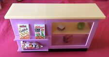 Barbie Mini Mart Cold And Frozen Food Counter Display