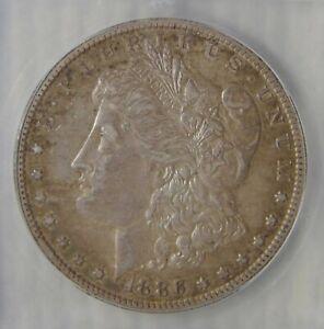 AU50 ~ 1886 O Morgan Silver Dollar, KEY DATE!
