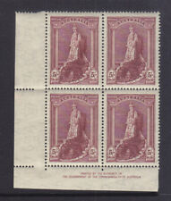 New listing 5/ Robes Thick Paper Imprint Block Of 4 3 X Muh 1 X Mh Bw212za