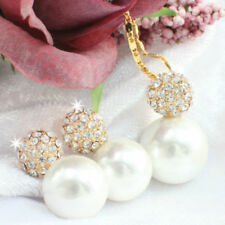 Alloy Pearl Yellow Gold Filled Fashion Jewellery