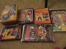 13 Kid's VHS & DVD's MADELINE,MY SCENE,THE WIGGLES,POWERPUFF GIRLS, POKÉMON LOT