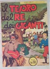 IL TESORO DEL RE DEI GIGANTI Sup. Giungla (Nerbini, 1938) Ristampa Anastatica