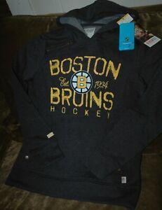Boston Bruins sweatshirt women's small NEW with Tags CCM NHL fall gear 2017