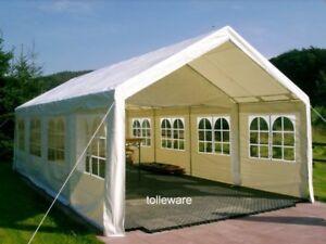 Ersatzplanen für Partyzelt : Dach- / Giebel- / Seitenplane - kostenloser Versand