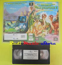 VHS film ALLA RICERCA DELLA VALLE INCANTATA 4 La terra delle nebbie (F68)no dvd