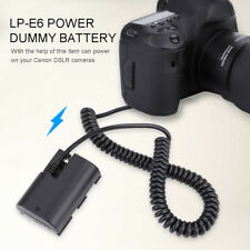 LP-E6 Dummy Battery Full Coded Power DC Coupler for Canon EOS 5DS 80D 70D Camera