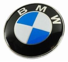 Car Emblem Hood Badge Chrome Front Logo 82mm 2 Pins For BMW 320i 528i X5 X6 Z3