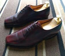 Stanislas Bottier Paris vintage Handmade leather wholecut oxford UK 8 F RRP £500