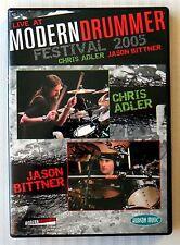 Live At Modern Drummer Festival 2005 ~ Rare Chris Adler Jason Bittner Drum DVD