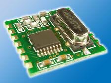 Funkmodul RFM12B   Sende-/ Empfangsmodul   FSK-Modulation im 868 MHz Band