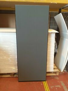 Office Screen Divider Partition 700mm W x 1800mm H Gunmetal Grey Nyloop