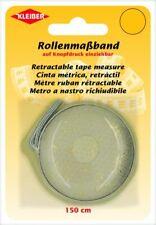 Kleiber Rollmaßband 150 cm lang mit cm Skala 930-37 gold-beige