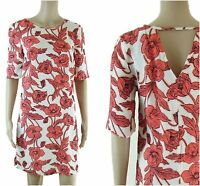 ex High Street Floral Half Sleeve Casual Summer Holiday Dress