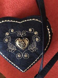 Dirndl Tasche Blau
