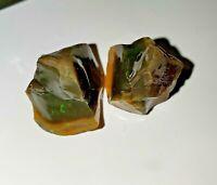 94 ct Ethiopian Dark Welo Opal Rough Specimen