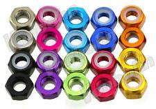 Vonbohn Metric M2 3 4 5 6 8 Anodized T 6 Aluminum Hex Lock Nuts 11 Colors