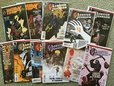 Lobster Johnson Lot of 37 Full Run + Hellboy Box Full of Evil #1 Mike Mignola