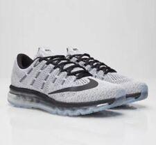 Mens Nike Air Max 2016 806771-101 White/Black Brand New Size 15