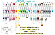 Copic SKETCH MARKERS  Pick YOUR CHOICE of ONE Color - 358 Colors Available