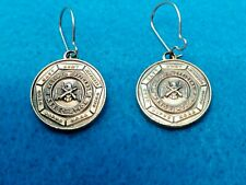 1929 Retired Military Officers Association Earrings