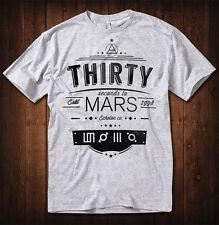 30 Seconds To Mars T-shirt  Men Women Echelon Rock Tee