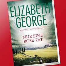 ELIZABETH GEORGE | NUR EINE BÖSE TAT | Inspector-Lynley-Roman 18 (Buch)
