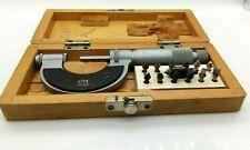 Vis 0 1 In Thread Pitch Micrometer Poland Aug05190505ws