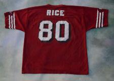 0a1a6ef2f Vintage Logo 7 NFL San Francisco 49ers Jerry Rice  80 Jersey Size L(46