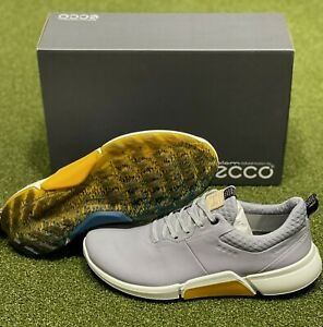 ECCO Biom H4 Spikeless Men's Golf Shoes Size 42 Silver US 8 - 8.5 NEW #86005