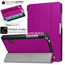 """2017 Amazon Kindle Alexa Fire 7"""" Smart Magnetic Leather Stand Book Case Cover"""