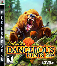 Cabela''s Dangerous Hunts 2009 PS3 New Playstation 3