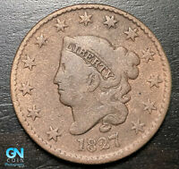 1827 Coronet Head Large Cent   --  MAKE US AN OFFER!  #B6323