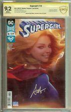 Supergirl #19, 23, 28 Signed Stanley Artgerm Lau CBCS (not CGC) 9.6 9.2 8.5